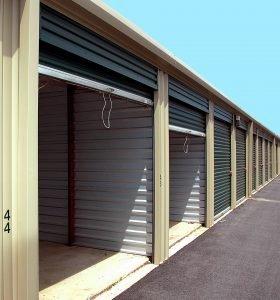 heated storage solutions - open storage doors