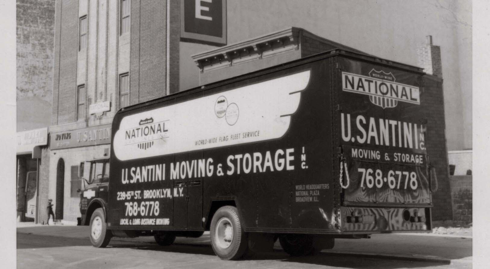 Charmant U. Santini Moving U0026 Storage Is The Original And Only Family Owned Moving  And Storage Company Based In Brooklyn, New York.