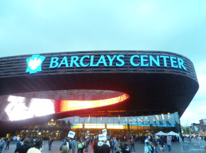 U.Santini Moving and storage, Barclays center, Brooklyn