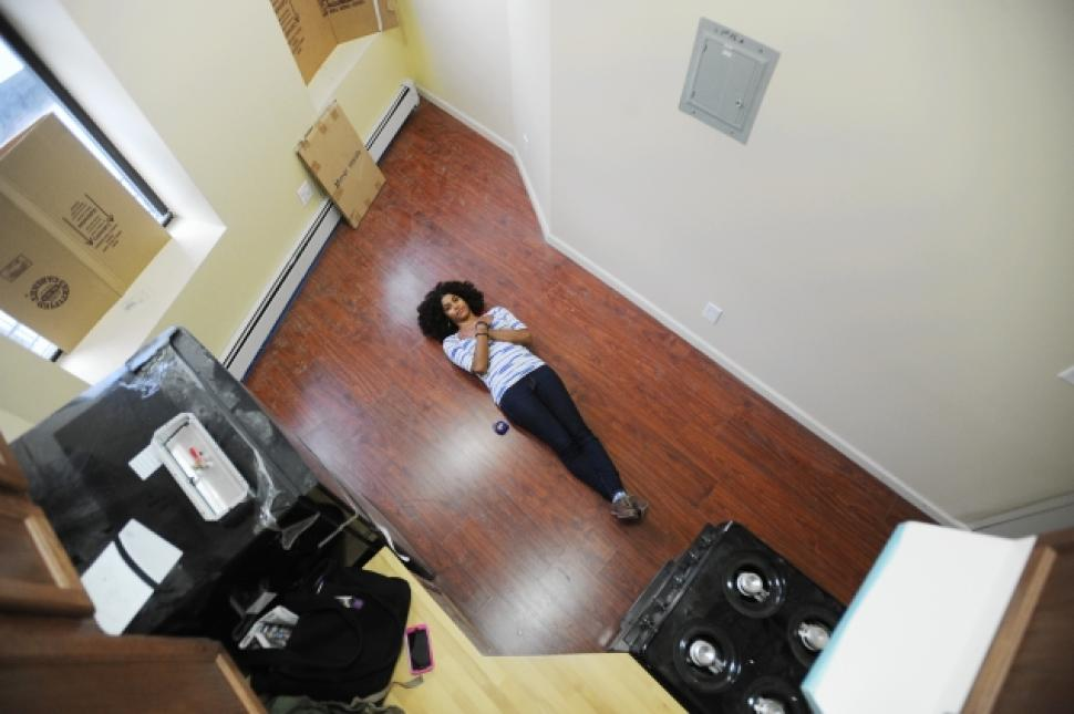Renting your first apartment in NYC, micro apartmrnt, u. Santini moving and storage, moving company