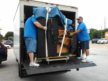 Paino moving, piano movers, usantini moving and storage