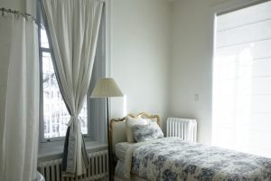 The different types of apartments in NYC - a room in white