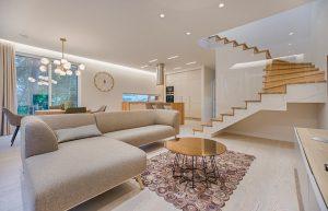 A room inside an apartment