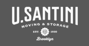 U. Santini logo - International moving companies NYC