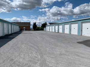 storage units as an excellent solution when you need to pack camping gear for moving