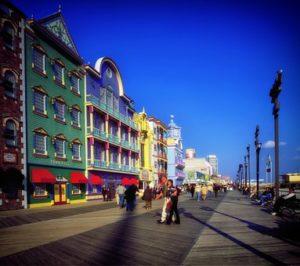 Atlantic City is a gambling center