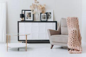 Furniture in a room