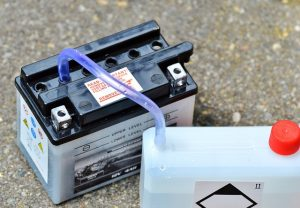A lead-acid battery