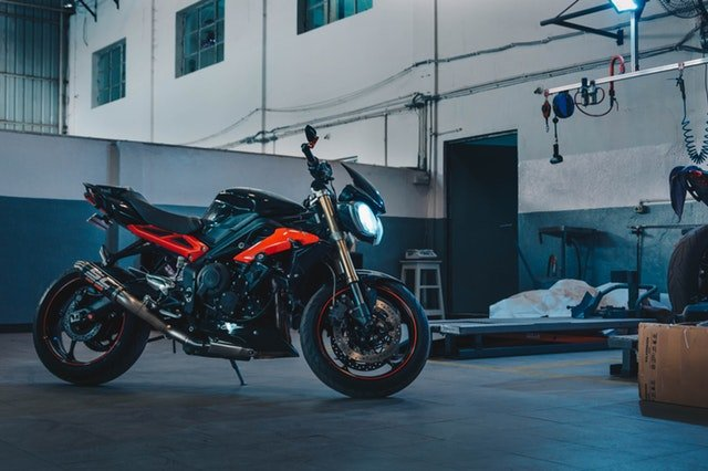 How to pack your motorcycle for storage