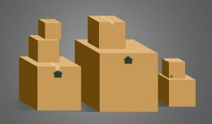 Boxes, if you get them for free you will save money when moving long distance