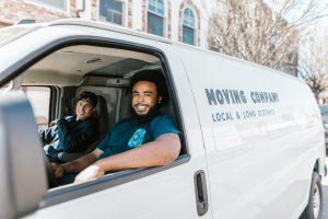 Novers in a van