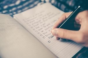 A checklist - unpack like a pro