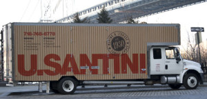 USanitni moving truck, Usantini moving and storage, Brooklyn moving, long dsitance moving