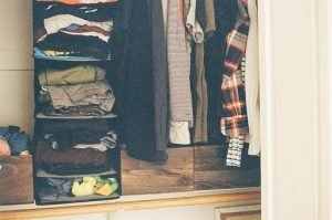 closet full of clothes