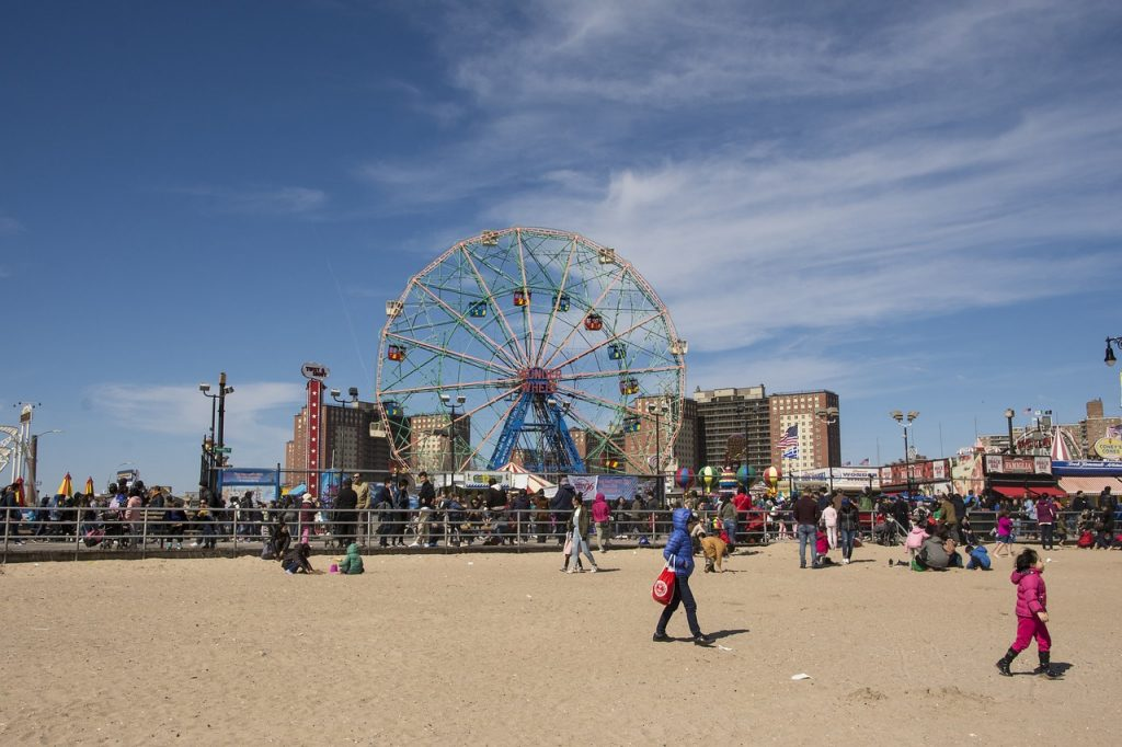 Coney Island Beach - the perfect place for family fun in Brooklyn