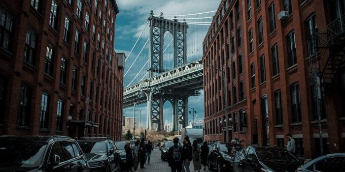 This is Dumbo, one of the most expensive Brooklyn neighborhoods.