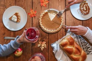 You can celebrate Thanksgiving in Brooklyn by having people over