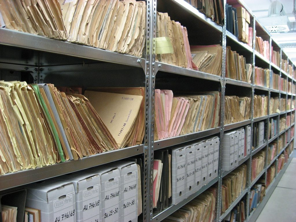 Corporate document storage NYC with racks and shelves to suit all your needs