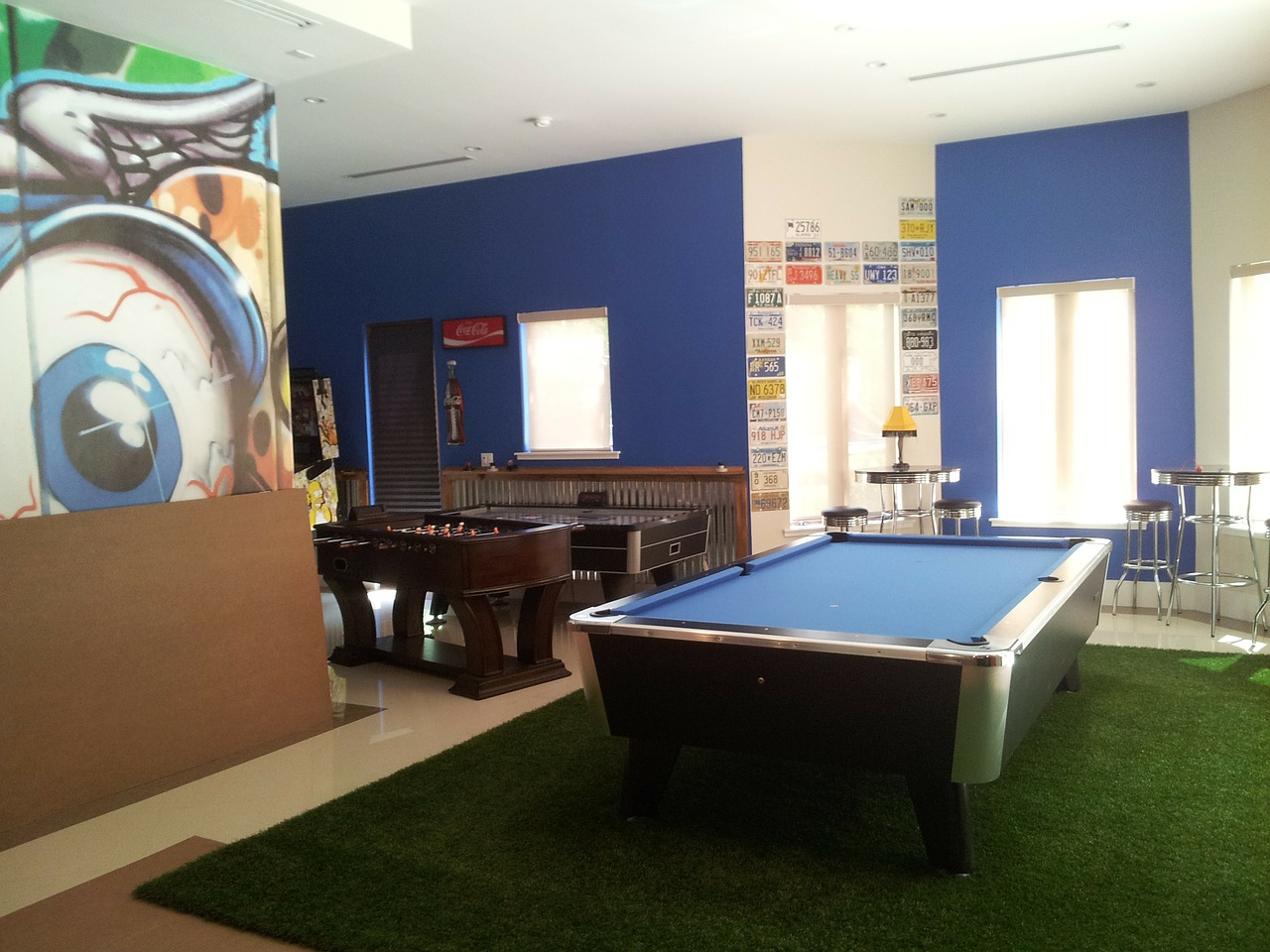 Tips for relocating your game room