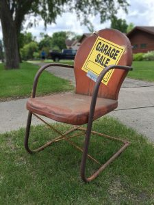 Organize a yard sale before you start to pack for long distance relocation.