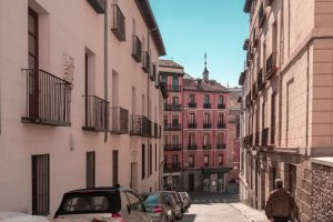 A small street in Madrid