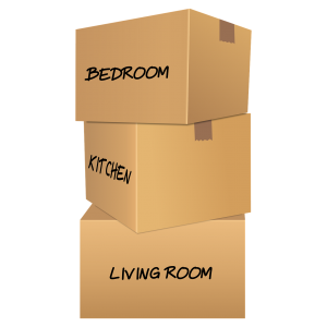 Label boxes after packing your belongings