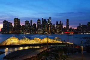 Brooklyn Heights by night