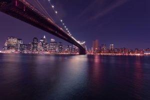A picture of a Brooklyn bridge