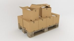 Moving boxes, get them for free at super markets when moving to Brooklyn on a budget