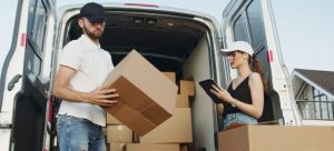 Hiring professional movers.