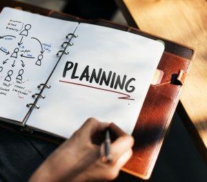 notebook written planning