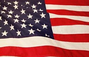 The US flag.