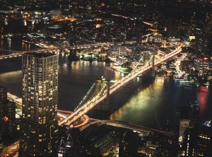 Brooklyn night landscape