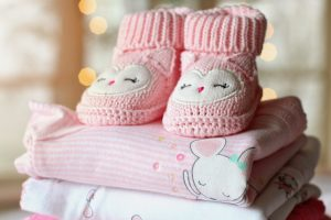 Baby items should be packed in hospital bag when moving while pregnant