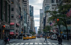 view of fifth avenue one of the beautiful streets NYC