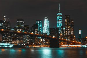 Brooklyn landscape at night is something you will not get a chance to see everyday in your life after Brooklyn.