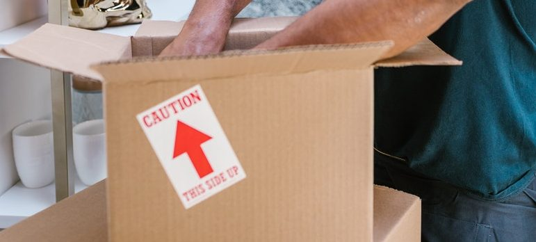 Include packing process in your moving timeline