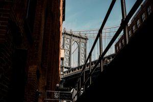overview of Brooklyn bridge