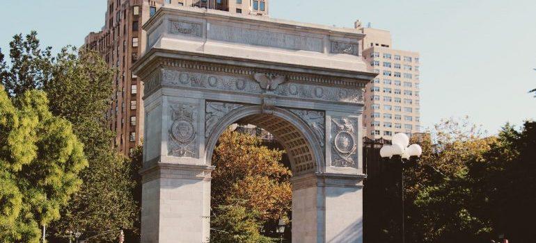 Washington Square Park arch in Greenwich Village