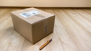 packing supplies that are not gathered as one of the Mistakes when moving appliances