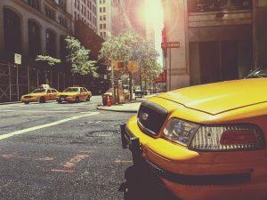 taxi car in brooklyn