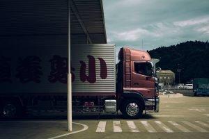 enclosed truck