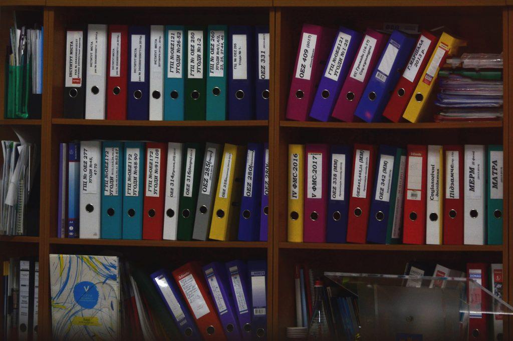 Folders corporate document storage NYC