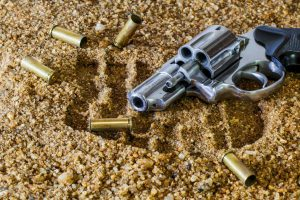 Move non-allowables like guns and ammo with professional help.