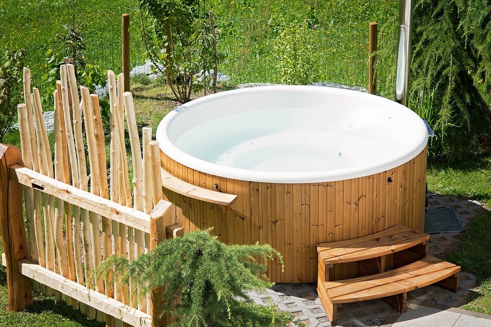 Learn how to move a hot tub